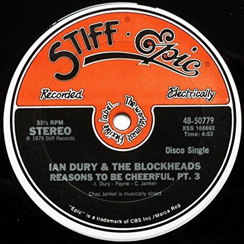IAN DURY - Reasons To Be Cheerful, Part 3 - Zortam Music