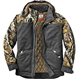 Legendary Whitetails Canvas Cross Trail Workwear Jacket Charcoal Large
