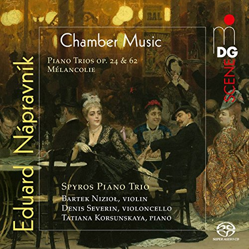 SACD : NAPRAVNIK / SPYROS PIANO TRIO - Eduard Napravnik: Complete Piano Trios