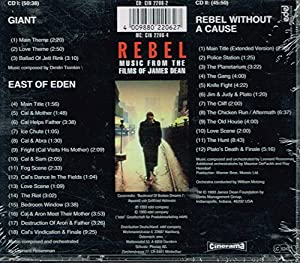 Rebel-2cds-music From The Films Of James Dean by Sba