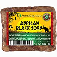 #1 Best Quality African Black Soap -…