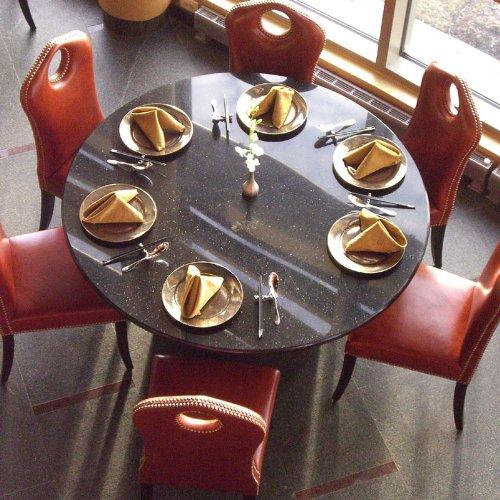 Art Marble Furniture Natural Granite Round Outdoor Tabletop, ROUND-TOP, ROUND TOP, ROUNDTOP
