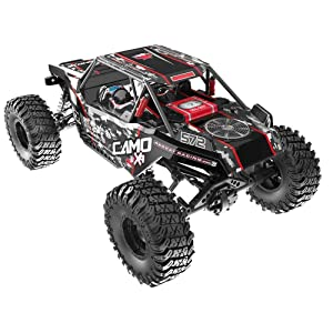 Redcat Racing Camo X4 PRO 1/10 Scale Brushless Electric Rock Racer