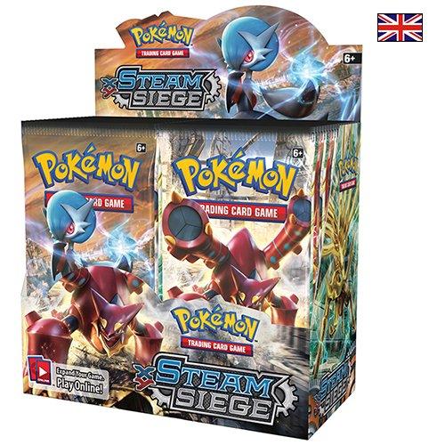 Pokemon XY Steam Siege Booster Box New Sealed