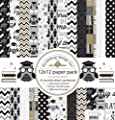 Doodlebug Designs The Graduate 12x12 Graduation Scrapbook Paper Pack