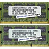8GB (2X4GB) Memory RAM for HP Pavilion DM1 - Laptop Memory Upgrade - Limited Lifetime Warranty