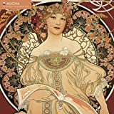Mucha 2014 Calendar: With Glittered Cover