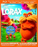 Dr. Seuss' The Lorax (Bilingual) [Blu-ray + DVD +  UltraViolet Copy]