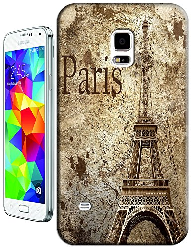 Beautiful Eiffel Tower Paris Fashion Cell Phone Cases Design For Samsung Galaxy S5 I9600 No.12 front-718411