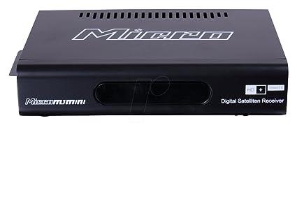 MICRO M1 MINI HD + FullHD HDTV récepteur satellite incl. Foxxum SmartTV, HD + SmartTV, 12 mois et 3 mois + HD + HD replay (HDMI, LAN, USB, USB PVRready, USB Media Player, DLNA, réseau Media Player
