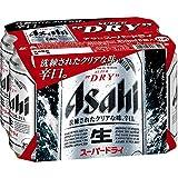 アサヒ スーパードライ 350ml×6缶パック ランキングお取り寄せ