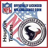 Houston Texans NFL Football Helmet Challenge Coin Poker Card Guard at Amazon.com