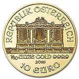 2016年 ウィーン金貨1/10オンス (クリアーケース付き)