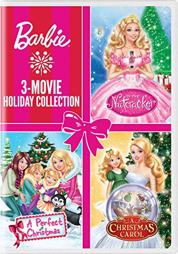 Barbie: 3-Movie Holiday Collection (Barbie: A Perfect Christmas / Barbie in a Christmas Carol /Barbie in the Nutcracker)