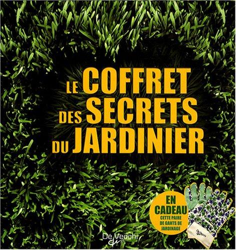 livre le coffret des secrets du jardinier en 3 volumes On conseil du jardinier