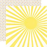 Echo Park A Perfect Summer Sunshine 12x12 Scrapbook Paper