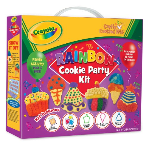 Brand Castle Crafty Cooking Crayola Rainbow Cookie