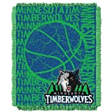 NBA Minnesota Timberwolves 48 x 60-Inch Double Play Jacquard Triple Woven Throw at Amazon.com