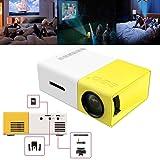 FidgetFidget YG300 1080P Home Theater Cinema USB HDMI AV SD Mini Portable HD LED Projector
