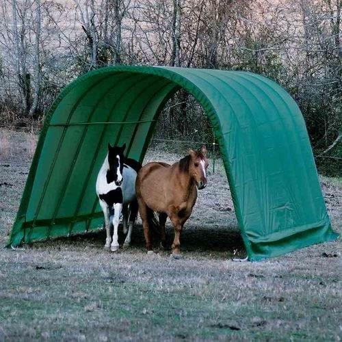ShelterLogic 12 x 24 x 10- Feet Round Style Run-In