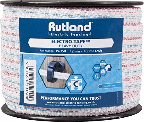 rutland-19-150r-ruban-a-clotures-electriques-12-mm-x-100-m