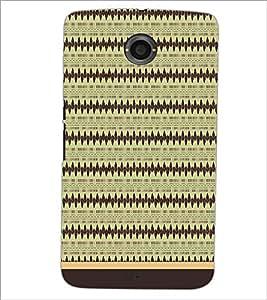 MOTOROLA GOOGLE NEXUS 6 PATTERN Designer Back Cover Case By PRINTSWAG