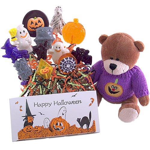 Halloween Lollipop Treats  Costume Teddy Bear