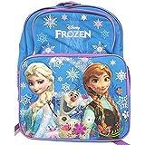 "Disney Frozen Princess Elsa and Anna School Backpack 16"""