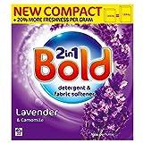 Bold 2in1 Lavender & Camomile Washing Powder - 22 Washes (1.43Kg)