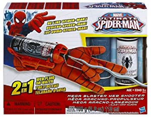 Amazon.com: MARVEL ULTIMATE SPIDER-MAN - Mega Blaster Web ...Ultimate Spider Man Web Blaster