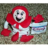 Out Of Production Disney Alice In Wonderland Red Ace Bean Bag Plush Doll Mint With Tags