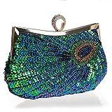 Myleas Clutches für Damen Abendtasche Unterarmtasche Partybag Handtasche Schultertasche