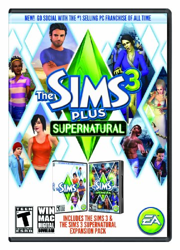 The Sims 3 Plus Supernatural (Mac) [Online Game Code] image
