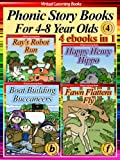 Picture Books For Children 04 (4 ebooks in 1) (Phonic Ebooks (Story Book Collections))