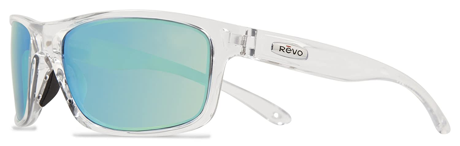 Revo Harness RE 4071 11 GY Polarized Wrap Sunglasses