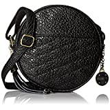 Rosetti Liberty Xbody Round Cross Body Bag, Black Quilt, One Size