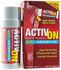 ActivOn Topical Analgesic Arthritis Ultra Strength -- 2 oz