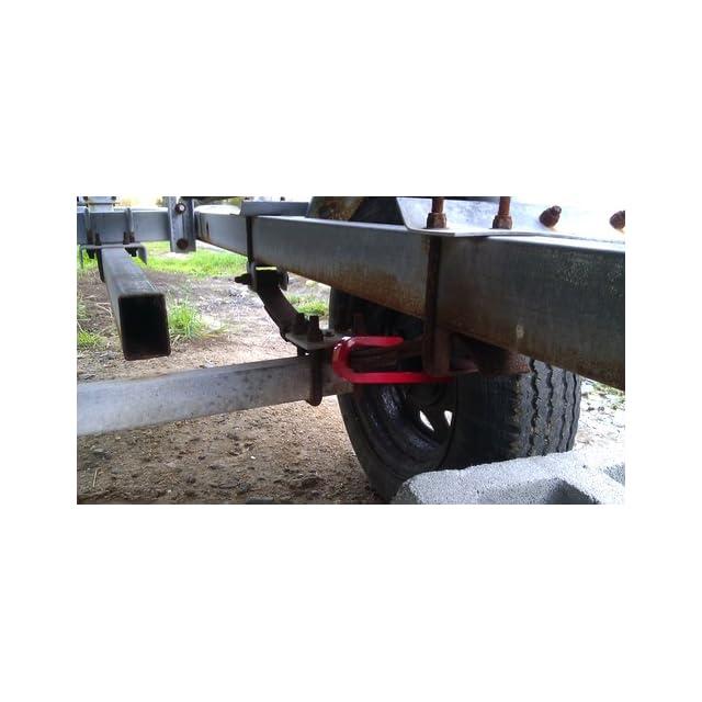Brinks 3020 057 Trailer Wheel Lock, J Lock Style