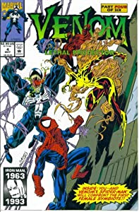Venom Lethal Protector #4 : Co-Starring Spider-Man in Deadly Birth (Marvel Comics) by David Michelinie and Mark Bagley