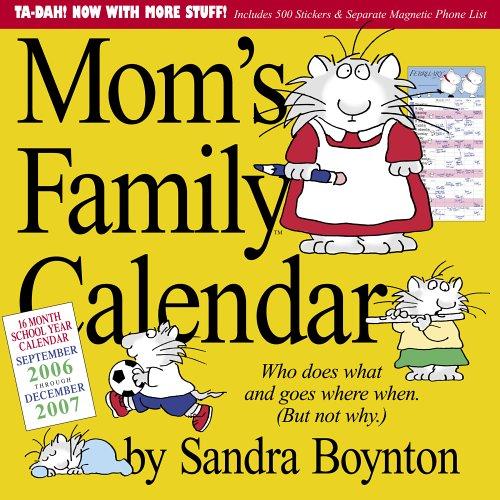 Mom's Family Calendar 2007