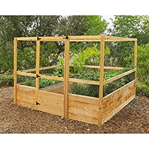 deerproof raised garden bed kit 8 39 x8 39 garden outdoors
