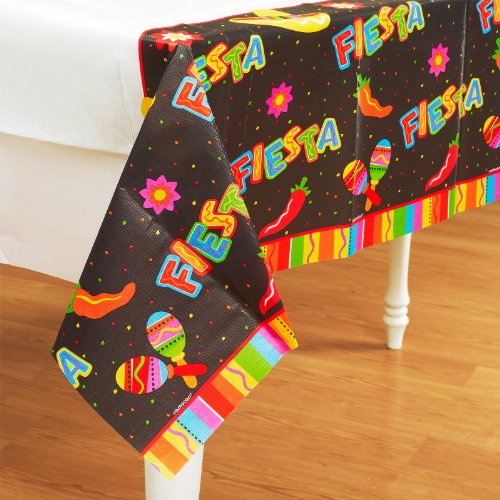 "Fiesta Fun Tablecover 54""X102 - 1"