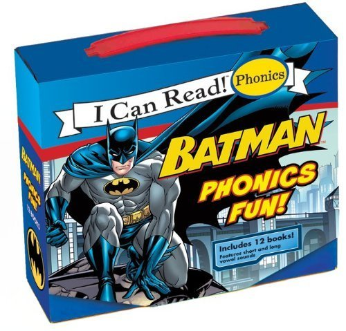 Batman Classic: Batman Phonics Fun (My First I Can Read) by Rosen, Lucy (2011) Paperback