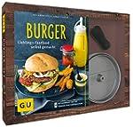 Burger-Set: mit antihaftbeschichteter...