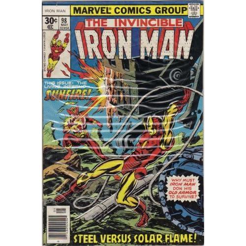 Iron Man #98 Comic Book