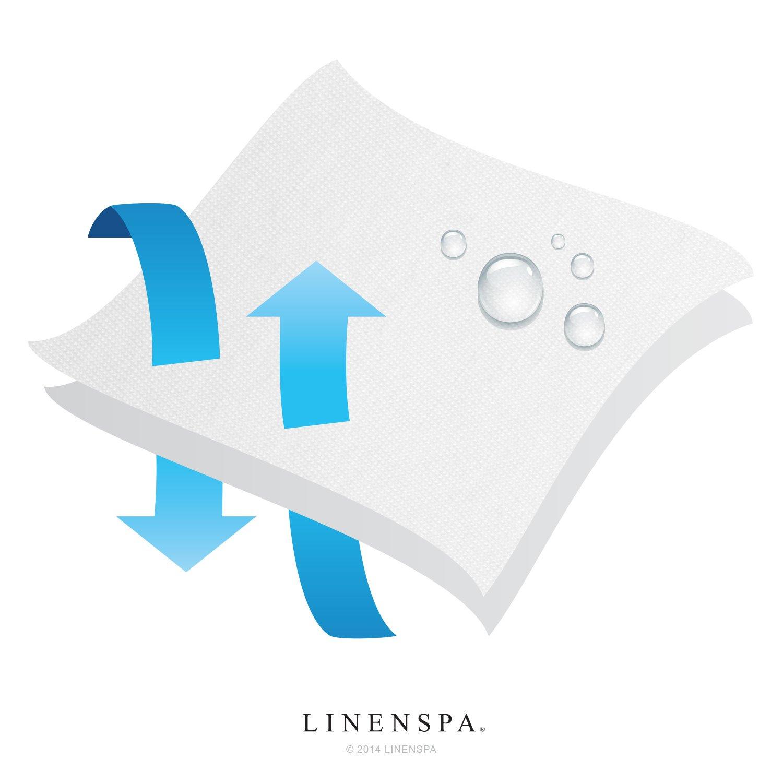 Постельное белье LINENSPA Premium Mattress Protector