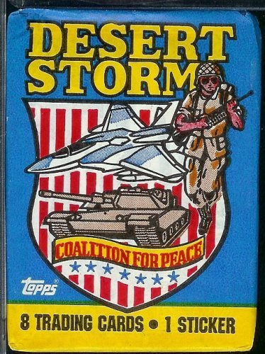 1991-topps-desert-storm-coalition-for-peace-trading-card-pack-8-cards-per-pack-plus-1-sticker