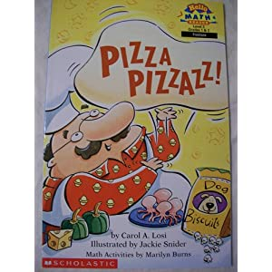 Pizza Pizzazz (Hello Reader! Math. Level 3)