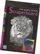 Essdee Británicos Scraperboard 305x 229mm (Pack de 5hojas)