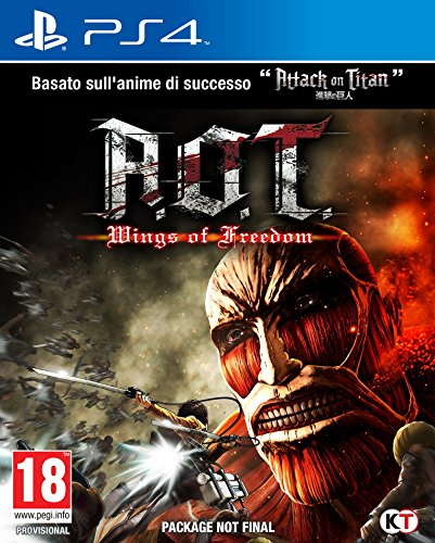 A.O.T. Wings Of Freedom (Attack On Titan) - PlayStation 4